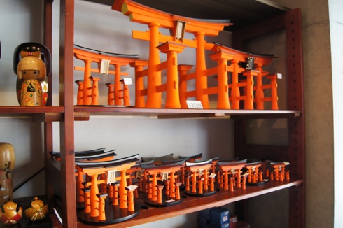 宮島 まるかふぇのお土産コーナー 画像3
