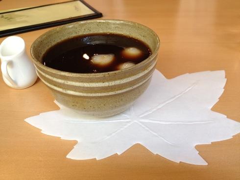 宮島 まるかふぇ コーヒーぜんざい画像1