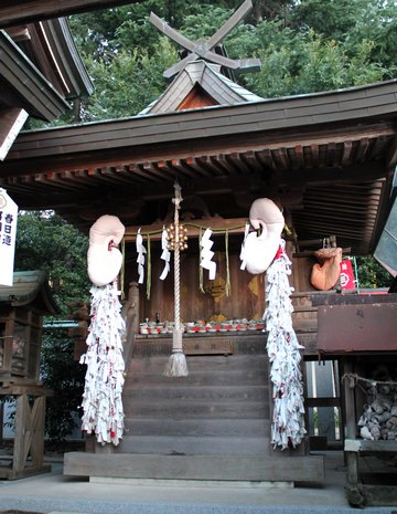 因島 大山神社、耳の神様もいる 一風変わった