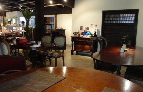 音戸のカフェ 天仁庵(Ten Jin An)の店内の様子