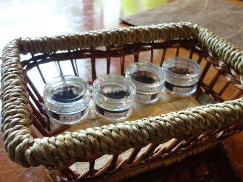 音戸のカフェ 天仁庵(Ten Jin An)の紅茶サンプル