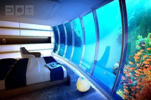 ドバイの海中ホテルが凄い!ウォーター・ディスカス・ホテル (Water Discus Hotel)