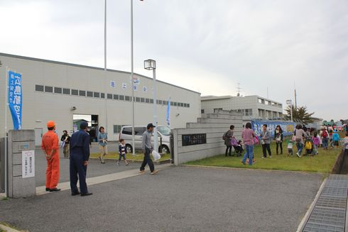 広島空港祭り 海上保安基地の見学会