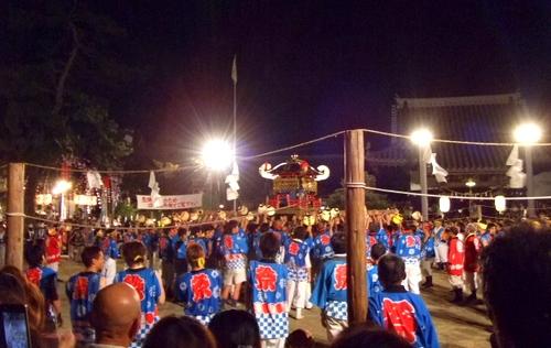 祇園祭 2010 福山で けんかみこし が激突