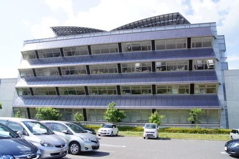北広島町役場 裏側からの写真