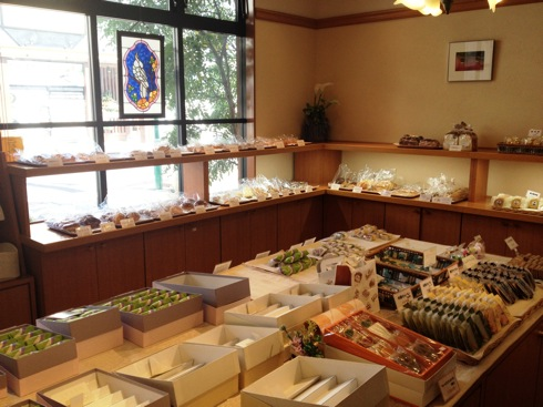 コペイカ 大竹市のパン屋さん 店内の様子1