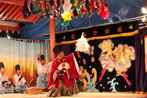 廿日市市大野 大頭神社で秋の例祭、厳島ゆかりの神社で夜神楽の奉納も