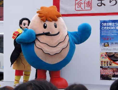 ブンカッキー、総選挙で1位になった広島県の人気キャラクター