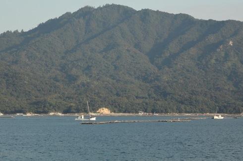 海と料理miya からの海の景色
