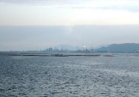 海と料理miyaからの大竹の景色