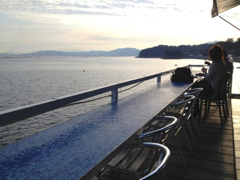 海と料理miya テラス席の画像