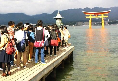 宮島 厳島神社 平舞台