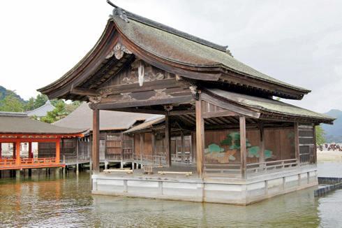 宮島 厳島神社 能舞台の写真