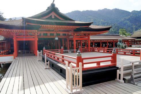 宮島 厳島神社 高舞台の画像