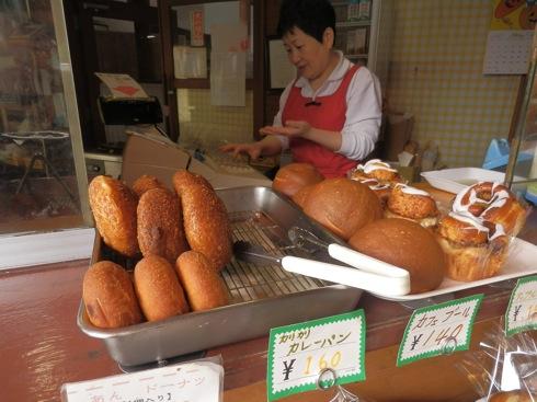 道の駅 ふぉレスト君田 パン屋さんのラインナップ