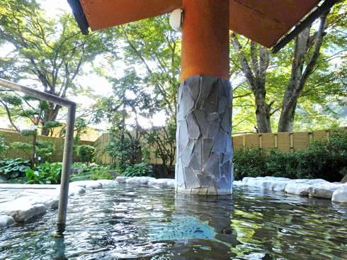 ふぉレスト君田 君田温泉の中の露天風呂