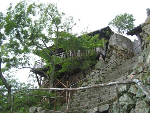 白滝山 五百羅漢 展望台を発見