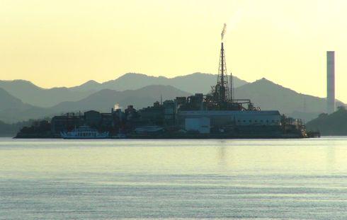 契島(ちぎりじま) 広島県の軍艦島