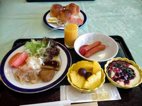 きのえ温泉ホテル清風館 朝食の画像2