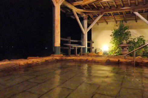 きのえ温泉ホテル清風館 露天風呂の画像2