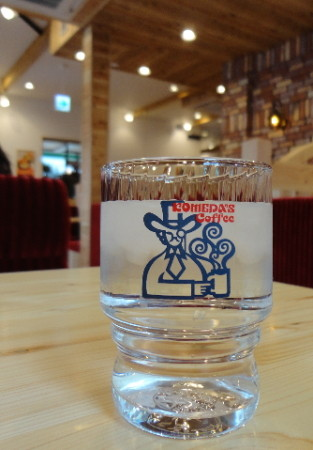 コメダ珈琲店 広島 グラスの画像