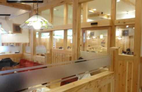 コメダ珈琲店 広島 喫煙席の写真