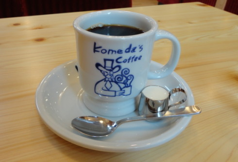 コメダ珈琲店 広島 コーヒーの画像