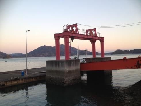 映画 東京家族のロケ地 木江港
