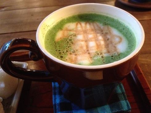 日本茶ばーUZI(ウージー) キャラメル抹茶ラテ