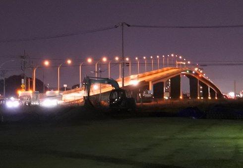 広島はつかいち大橋の夜景