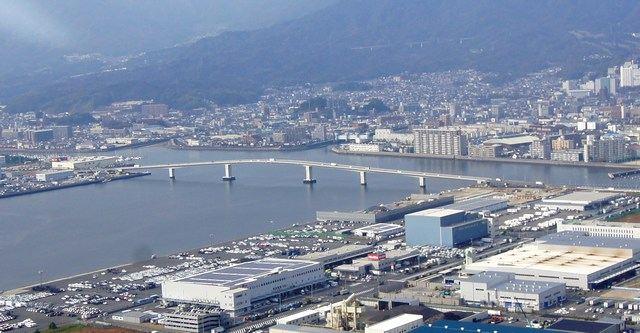 広島はつかいち大橋 全景