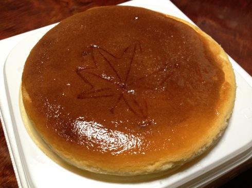 メープルもみじチーズケーキ の画像1