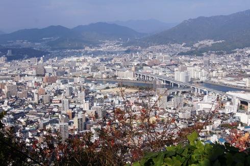 広島 黄金山からの景色 画像