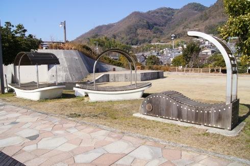 沖浦港おさかな公園 の遊具