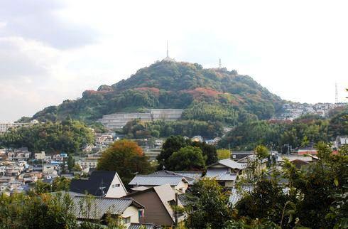 広島 黄金山からの広島湾・市街地の眺め