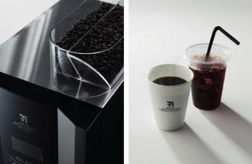 セブンカフェ マシンなどの画像