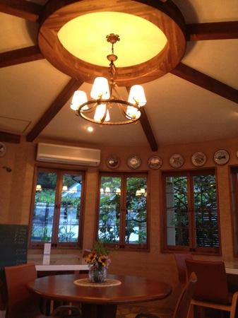 ドンフェデリーコ 円形の部屋