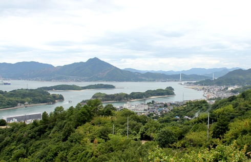因島公園 からの眺め 画像2