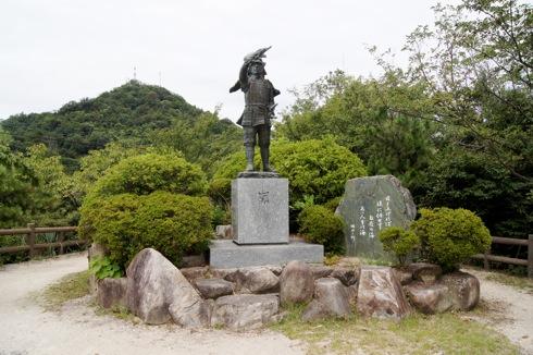 因島公園 因島水軍碑の画像