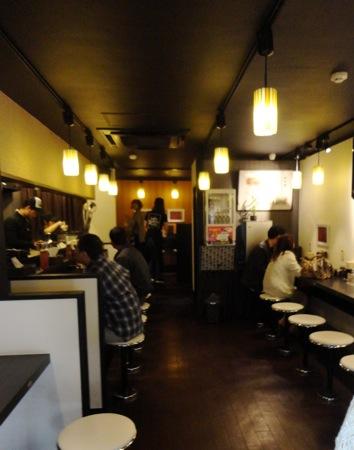 広島の汁なし担担麺 キング軒 の店内の様子