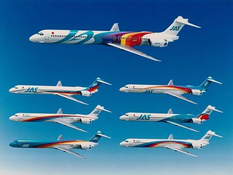 JAL MD-90が 広島空港でラストフライト!退役イベントも