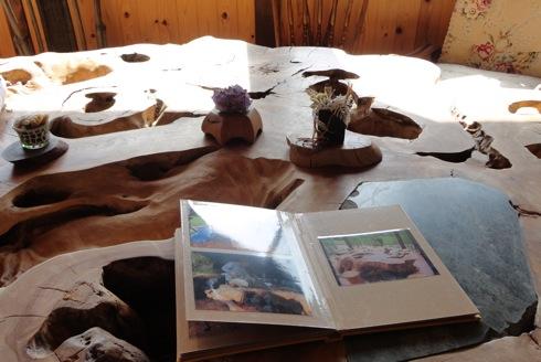 パン屋 ルサンク けやきのテーブル2