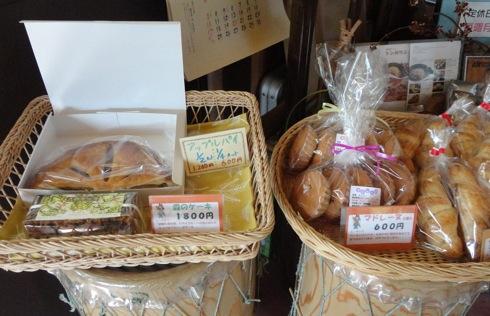 パン屋 ルサンク 並んだパン2