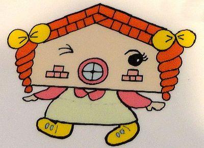 レンガール 広島市郷土資料館のキャラクター