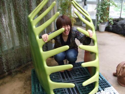 広島市植物公園 食虫植物体験コーナー