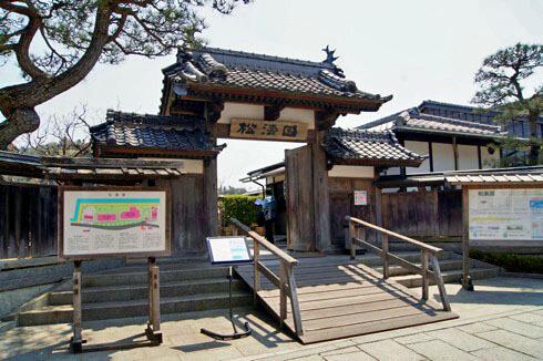 下蒲刈 松濤園(しょうとうえん)、美しい庭園