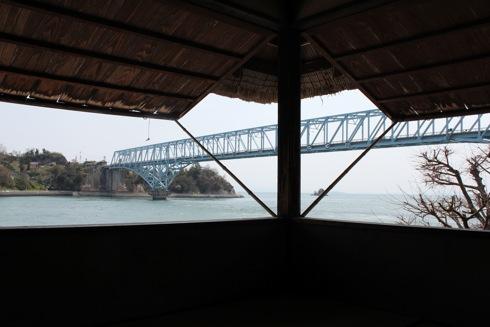 下蒲刈 松濤園(しょうとうえん) 観潮楼からの眺め