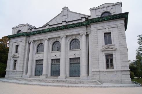 江田島 海軍兵学校 大講堂の外観2