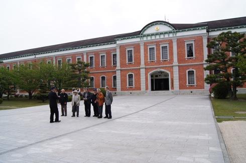 江田島 旧海軍兵学校の生徒館(赤レンガ)