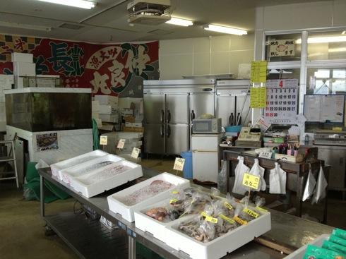 江田島 海辺の海鮮市場 店内